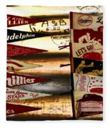Phillies Pennants Fleece Blanket