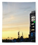 Phillies Stadium At Dawn Fleece Blanket