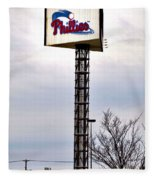 Phillies Stadium Sign Fleece Blanket