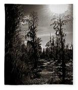 Phinizy Swamp Fleece Blanket