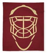 Phoenix Coyotes Goalie Mask Fleece Blanket