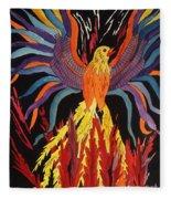 Phoenix Rising Fleece Blanket