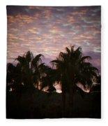 Phoenix Sunset Fleece Blanket