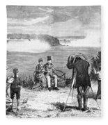 Photographer, 1877 Fleece Blanket