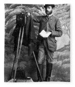 Photographer, 1900 Fleece Blanket