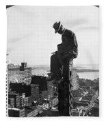 Photographer, 1907 Fleece Blanket