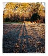 Photographer Shadow Fleece Blanket