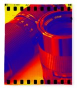 Photographic Lenses Fleece Blanket