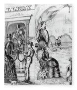 Photography Studio, 1873 Fleece Blanket