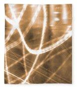 Photon Flow Fleece Blanket