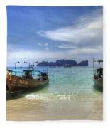 Phuket Koh Phi Phi Island Fleece Blanket