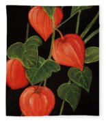 Physalis Fleece Blanket
