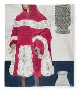 Physician, 15th Century Fleece Blanket