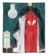 Physician, 16th Century Fleece Blanket