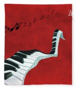 Piano Fun - S01at01 Fleece Blanket