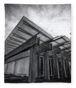 Piano Pavilion II Fleece Blanket