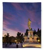 Piazzala Michelangelo Fleece Blanket