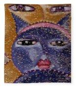 Picasso Cats Fleece Blanket