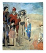 Picasso's Family Of Saltimbanques Fleece Blanket