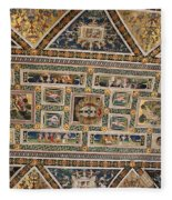 Piccolomini Bibliotheca - Siena Fleece Blanket