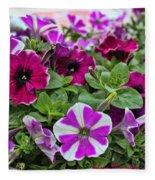 Pick Purple Fleece Blanket
