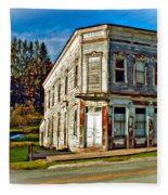 Pickens Wv Painted Fleece Blanket
