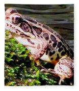 Pickerel Frog Fleece Blanket