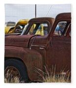 Pickup Cabs 2 Fleece Blanket