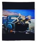 Pickup Truck Fleece Blanket