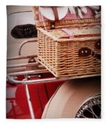 Picnic Ready Fleece Blanket