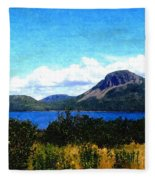Picture Perfect In Painterly Style Fleece Blanket