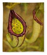 Picture Plant Fleece Blanket