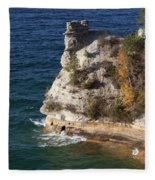Pictured Rocks National Lakeshore 2 Fleece Blanket