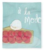 Pie A La Mode Fleece Blanket