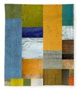 Pieces Parts Lv Fleece Blanket