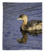 Pied-billed Grebe Fleece Blanket