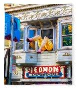 Piedmont Boutique Fleece Blanket