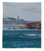 Piedras Blancas Lighthouse A2155 Fleece Blanket