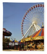 Pier Park Fleece Blanket