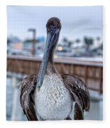 Pier Pelican Fleece Blanket
