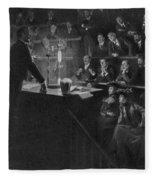Pierre Curie (1859-1906) Fleece Blanket