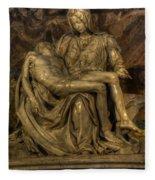 Pieta Fleece Blanket