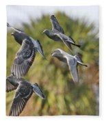 Pigeon Brigade Fleece Blanket