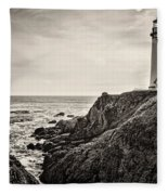 Pigeon Point Light Fleece Blanket
