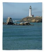 Pigeon Point Lighthouse Near Half Moon Bay-san Francisco Fleece Blanket