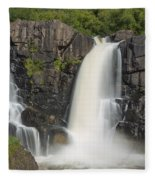 Pigeon River High Falls 10 Fleece Blanket