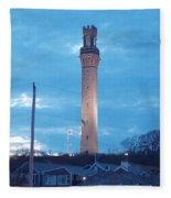Pilgrim Tower Fleece Blanket