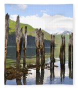 Pilings Fleece Blanket