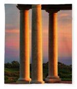Pillars Of Life Fleece Blanket