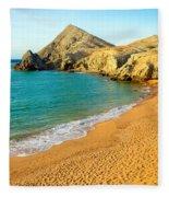 Pilon De Azucar Beach Fleece Blanket